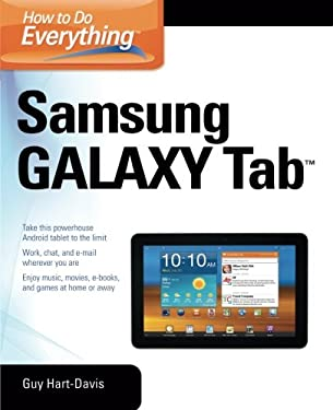 How to Do Everything Samsung Galaxy Tab 9780071771092