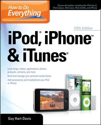 How to Do Everything iPod, iPhone & iTunes 9780071630245