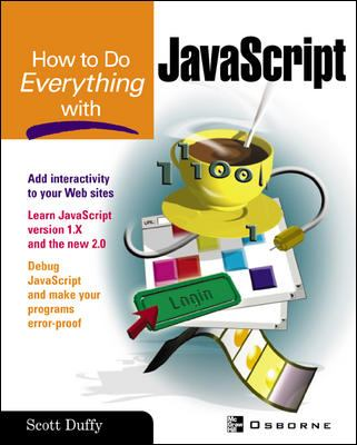 How to Do Everything with JavaScript 9780072228878