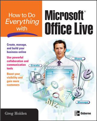 How to Do Everything with Microsoft Office Live 9780071485609