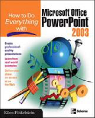 How to Do Everything with Microsoft Office PowerPoint 2003 9780072229721
