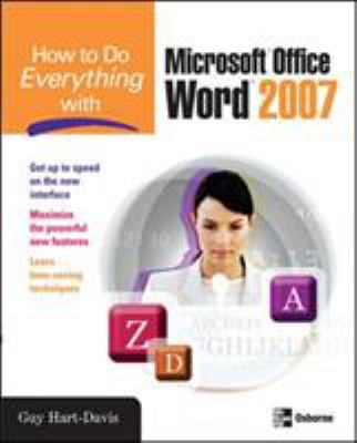 How to Do Everything with Microsoft Office Word 9780071490696