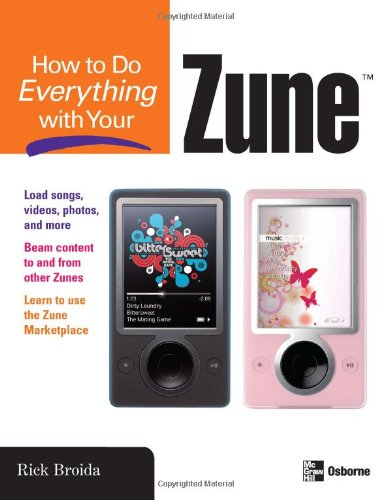 How to Do Everything with Your Zune 9780071490702