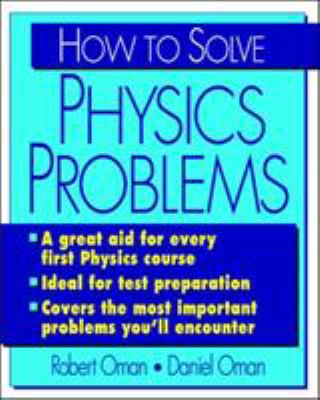 How to Solve Physics Problems How to Solve Physics Problems 9780070481664