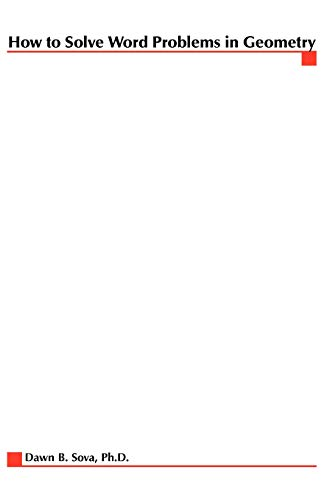 How to Solve Word Problems in Geometry 9780071346528