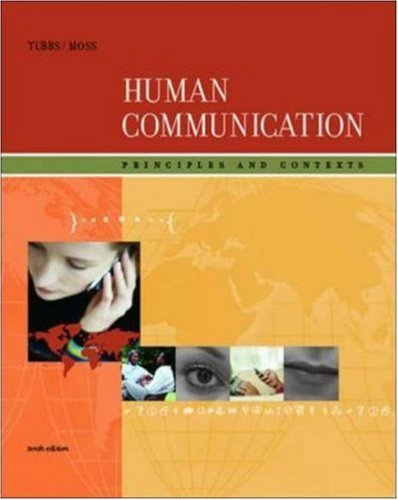 Human Communication: Principles and Contexts with Powerweb 9780073251998
