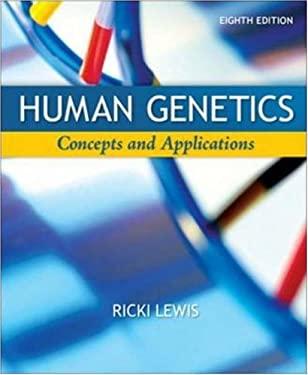 Human Genetics: Concepts and Applications 9780077221270