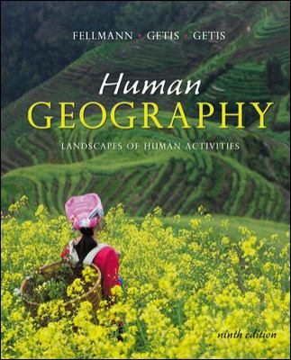 Human Geography: Landscapes of Human Activities 9780072827651