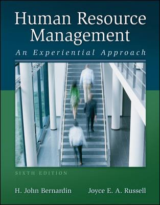 Human Resource Management: An Experiential Approach 9780078029165