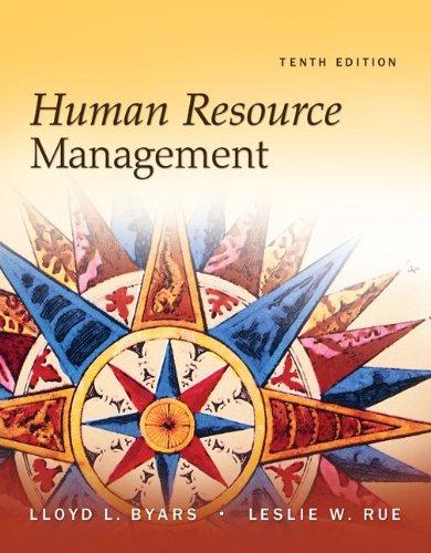 Human Resource Management 9780073530550