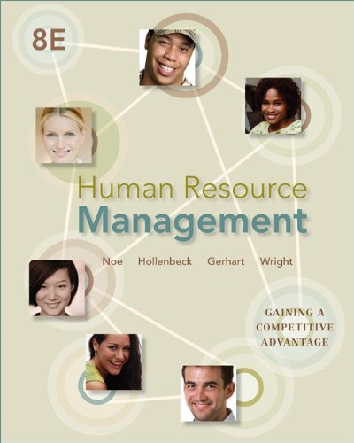 Human Resource Management: Gaining a Competitive Advantage 9780078029257