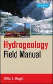 Hydrogeology Field Manual