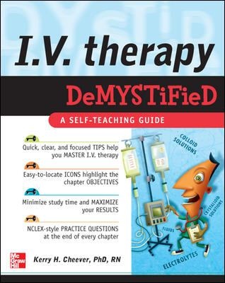 I.V. Therapy Demystified 9780071496780