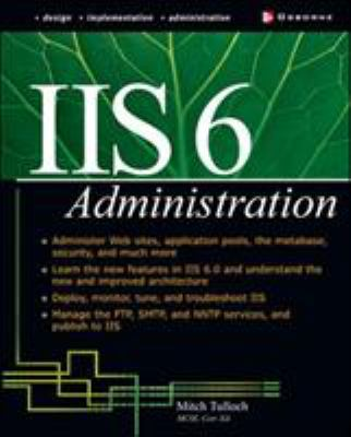 IIS 6 Administration 9780072194852