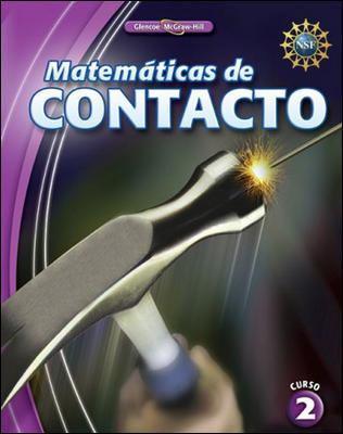 Matematicas de Contacto, Curso 2 9780078916076