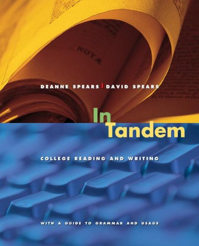 In Tandem: Reading and Writing for College Students 9780073385709