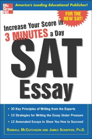 Increase Your Score in 3 Minutes a Day: SAT Essay 9780071440424