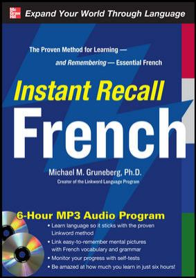 Instant Recall French [With CDROM] 9780071637787