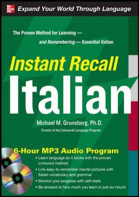 Instant Recall Italian [With CDROM] 9780071637275