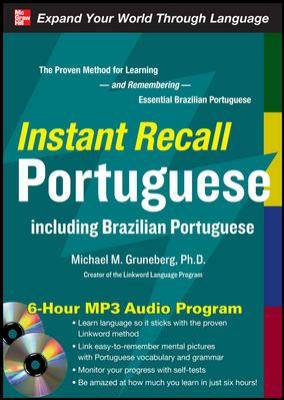 Instant Recall Portuguese: Including Brazilian Portuguese [With CDROM]