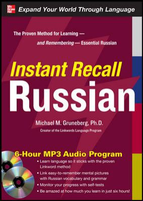 Instant Recall Russian [With CDROM]