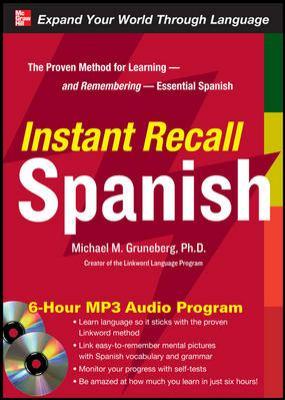 Instant Recall Spanish [With CDROM]