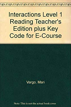 Interactions Level 1 Reading Teacher's Edition Plus Key Code for E-Course 9780077202569