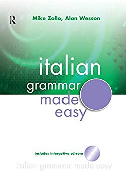 Interactive Italian Grammar Made Easy [With CDROM] 9780071460927