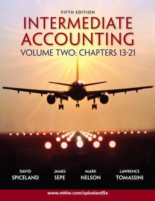 Intermediate Accounting Volume 2 Ch 13-21 W/Google Annual Report 9780077284718