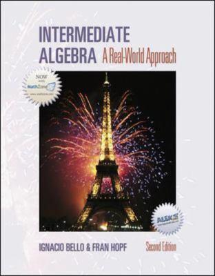 Intermediate Algebra 9780072991000