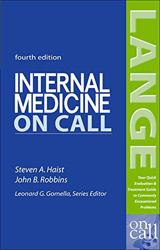 Internal Medicine on Call 9780071439022