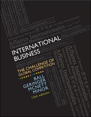 International Business: The Challenge of Global Competition 9780078112638