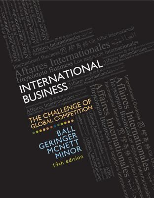 International Business with Cesim Global Challenge Simulation Access Card + Connect Plus 9780077636852