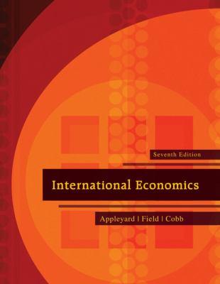 International Economics 9780073511344
