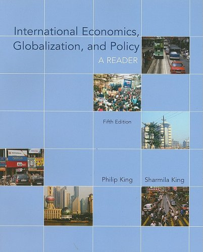 International Economics, Globalization, and Policy: A Reader 9780073375816