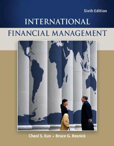 International Financial Management 9780078034657