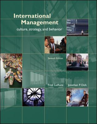 International Management: Culture, Strategy, and Behavior 9780073381190