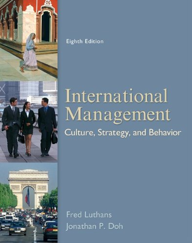 International Management: Culture, Strategy, and Behavior 9780078112577