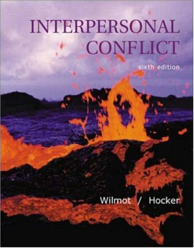 Interpersonal Conflict 9780072312539