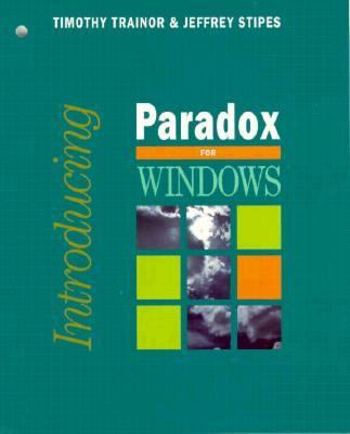 Introducing Paradox for Windows 9780070515802