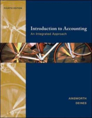 Introduction to Accounting: An Integrated Approach 9780073526669