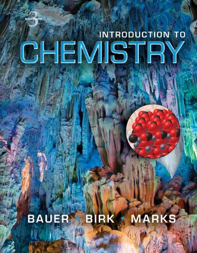 Introduction to Chemistry 9780073402673
