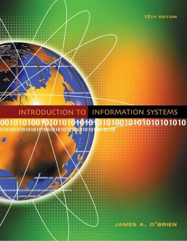 Introduction to Information Systems 9780072890426