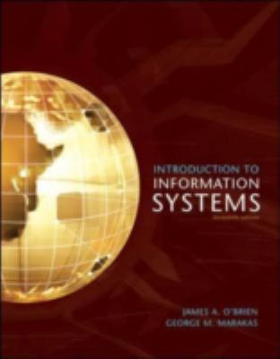 Introduction to Information Systems 9780073043555