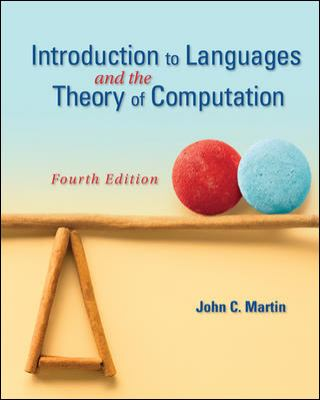 Introduction to Languages and the Theory of Computation 9780073191461