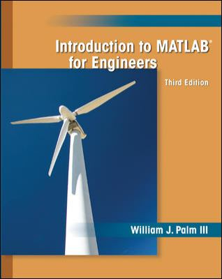 Introduction to MATLAB for Engineers 9780073534879