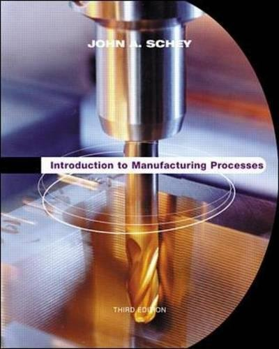 Introduction to Manufacturing Processes 9780070311367
