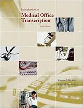 Introduction to Medical Office Transcription Package W/ Audio Transcription CD [With CD (Audio)]