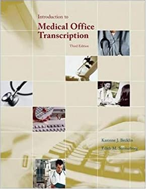 Introduction to Medical Office Transcription Package W/ Audio Transcription CD [With CD (Audio)] 9780073259369