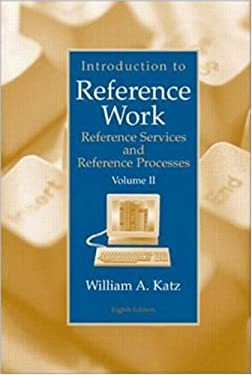 Introduction to Reference Work, Volume II 9780072441437